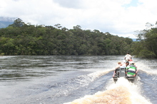 Rio Carrao, on the way to Angel Falls