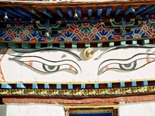 Tibet - Mystical eyes of BUDDA