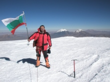 Bolivia, Sajama - highest peak, 6548 m - July 2008